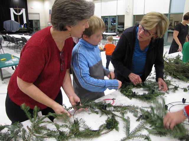 Advent Wreath Workshop and Potluck 5:00 Sunday, Dec. 2